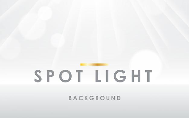 Ponto de luz de fundo branco