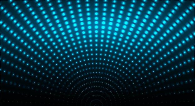 Ponto de onda azul abstrato
