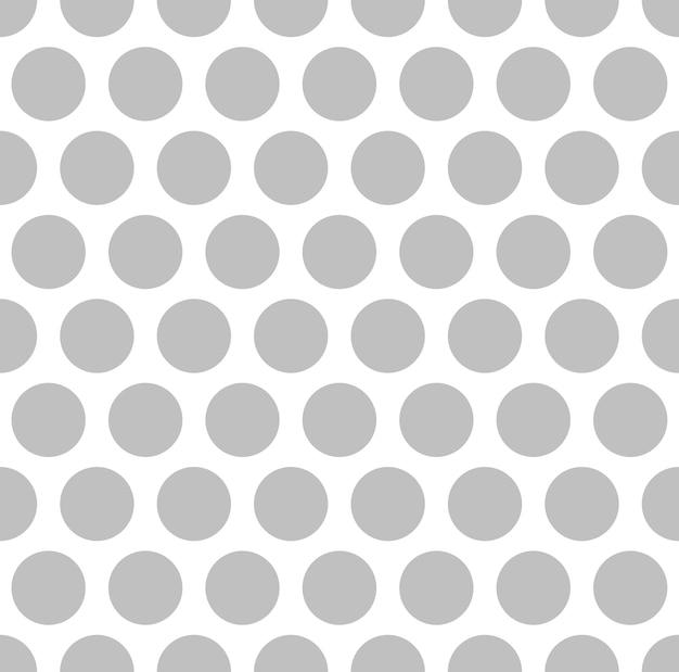 Pontos de cor de prata interessantes sobre fundo branco