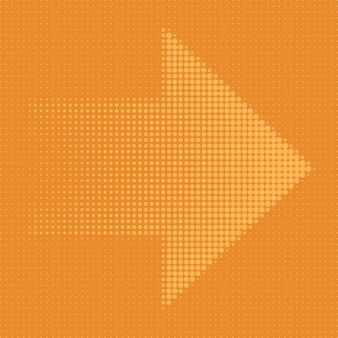 Pontos de meio-tom de seta