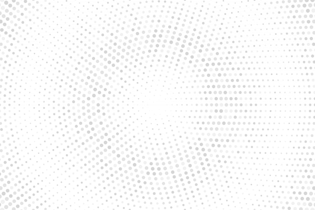 Pontos de meio-tom em fundo branco. textura de meio-tom de pontos cinza.