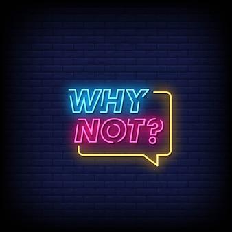 Por que não o texto do estilo de letreiros de néon
