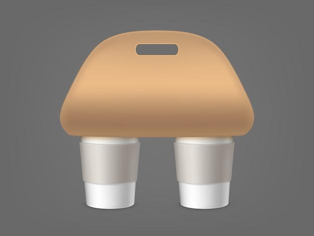 Porta copos de café