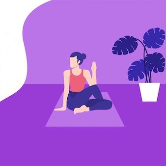 Pose de ioga