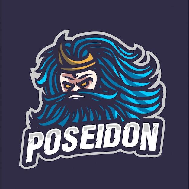 Poseidon e-sport logo