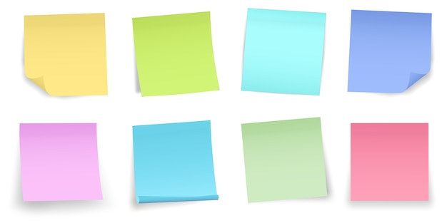 Post nota papel adesivo alfinete. fita adesiva adesiva.