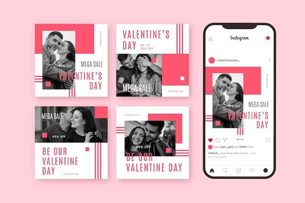 Postagem de promoção do dia dos namorados no instagram