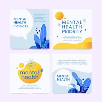 Postagem detalhada no facebook sobre saúde mental