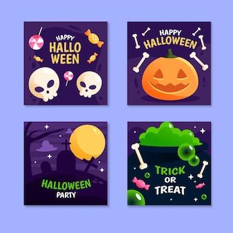 Postagem do instagram do festival de halloween