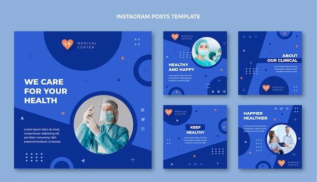 Postagem médica desenhada à mão no instagram