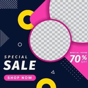 Postagem no instagram de venda especial