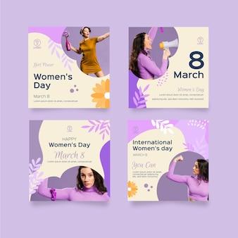 Postagem no instagram do dia internacional da mulher