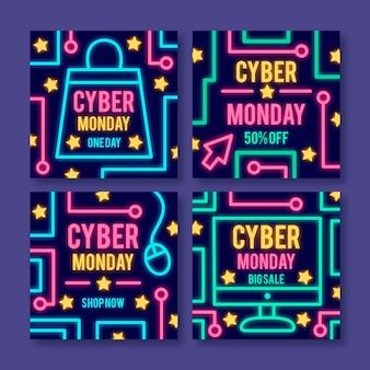 Postagens do instagram da cyber monday