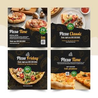 Postagens do instagram de pizzarias