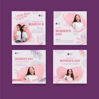 Postagens no instagram do dia internacional da mulher