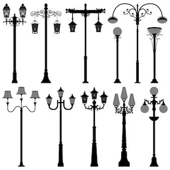 Poste de luz poste de luz de rua polelight.