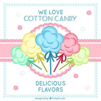 Poster algodão doce