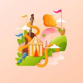 Pôster de carnaval