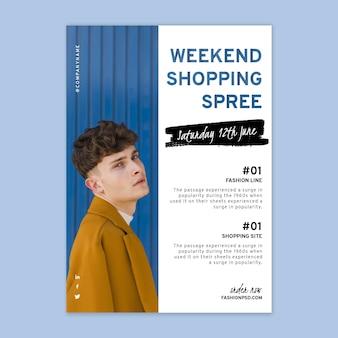 Pôster de compras online