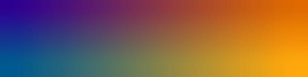 Pôster de fundo de papel de parede de gradiente desfocado em azul, laranja, violeta e amarelo