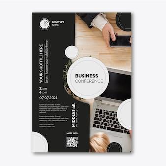 Pôster de negócios em geral