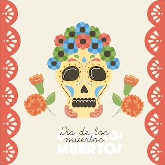 Poster do dia dos mortos