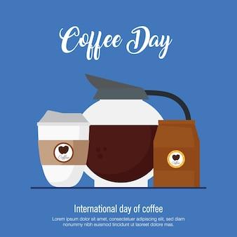 Pôster do dia internacional do café
