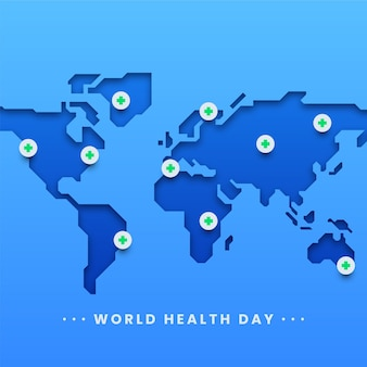 Pôster do dia mundial da saúde