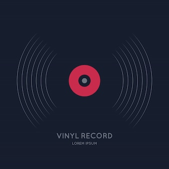 Pôster do disco de vinil