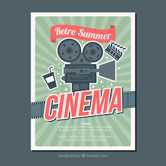 Poster do filme do vintage