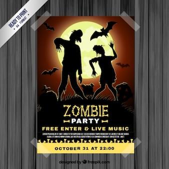 Poster do partido zombie