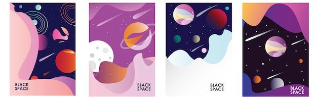 Poster espaço escuro