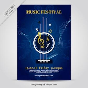 Poster festival de música