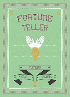 Poster fortune teller