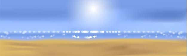 Praia de verão