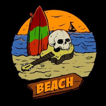 Praia do crânio