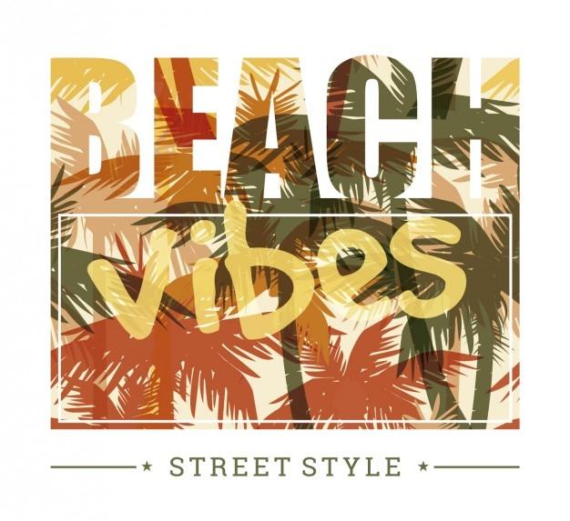 Praia vibes estilo de rua