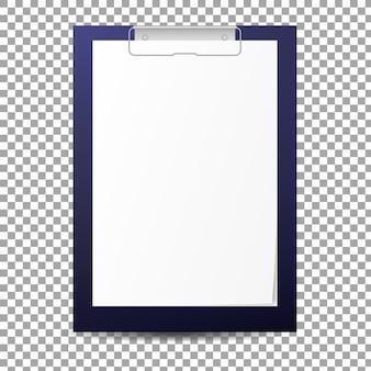 Prancheta de papel