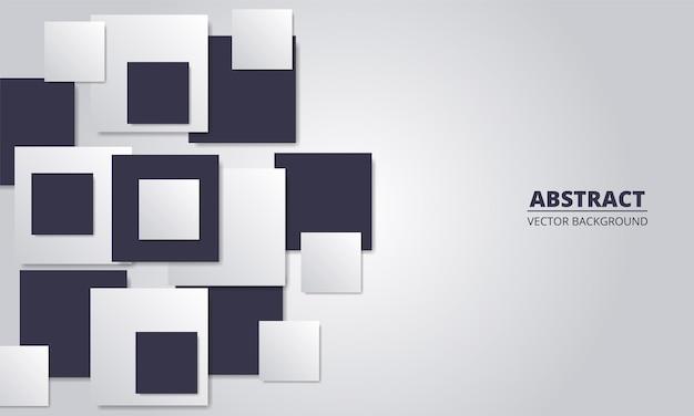 Prata abstrata com formas quadradas.