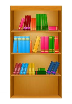Prateleiras de livros