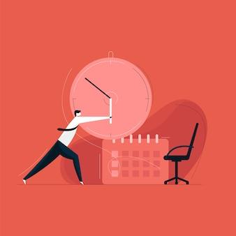 Precisa de mais conceito de tempo, gerenciamento de tempo