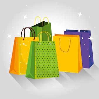 Preço de venda especial de sacos de compras