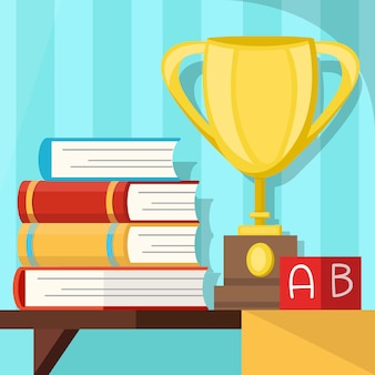 Prêmio de educação, símbolo de formatura
