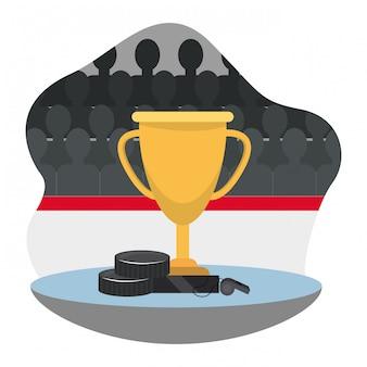 Prémio do troféu de hóquei