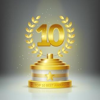 Prêmio top 10 de melhor pódio