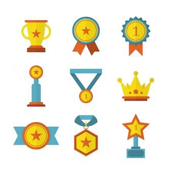 Prêmios de realização plana