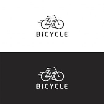 Premium de vetor de logotipo de bicicleta
