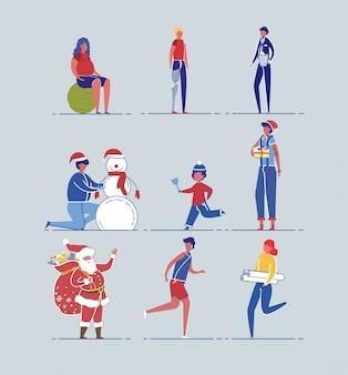 Preparação das férias de natal e rotina diária.