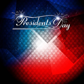 Presidentes brilhantes dia fundo