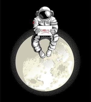 Preso na lua